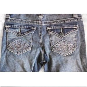 Jessica Simpson Crystaline Jeans NWT Size 26
